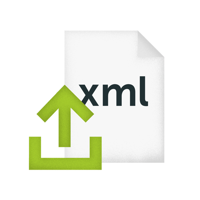 Import ordini da XML